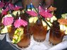 Picture of a tray of Mai Tai's at the Feast at Lele, one of the best Maui luaus.