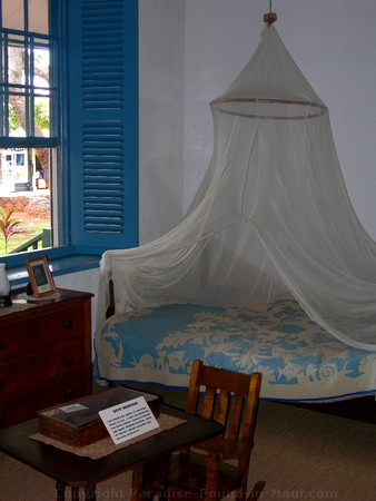 Picture of the children's room in the Baldwin Home Museum on Front Street, Lahaina on the island of Maui, Hawaii.