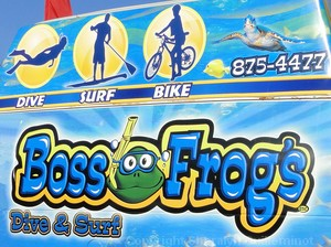 Boss Frog's in Maui