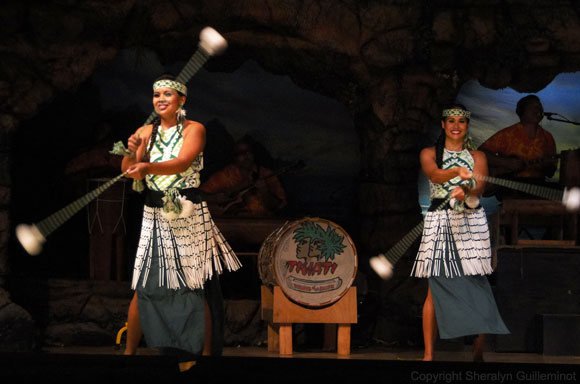 Hula Dancers with Poi Balls