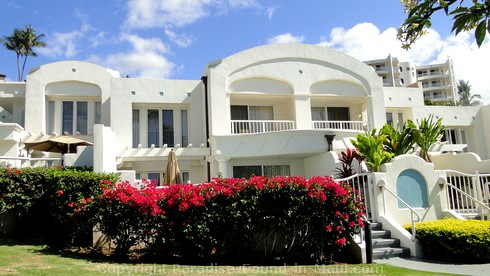 Picture of luxury villas at the Fairmont.