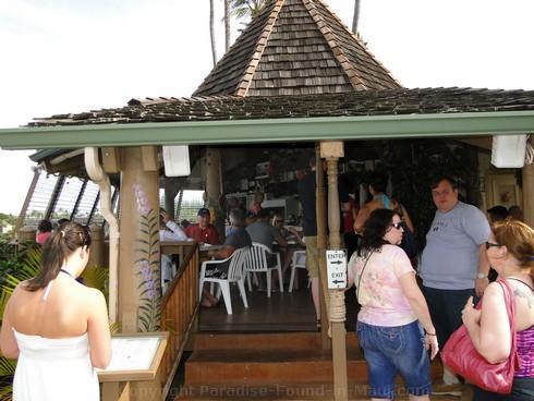 Picture of the Gazebo Restaurant at the Napili Shores Resort, Maui.
