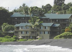 Picture of the Hana Kai Resort's condo vacation rentals in Hana Maui.