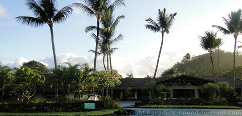 Picture of a Hana Hawaii Hotel called the Travaasa Hana on the island of Maui.