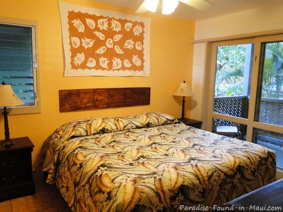 Bedroom at the Hana Kai