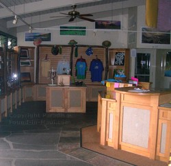 Picture of the gift shop.