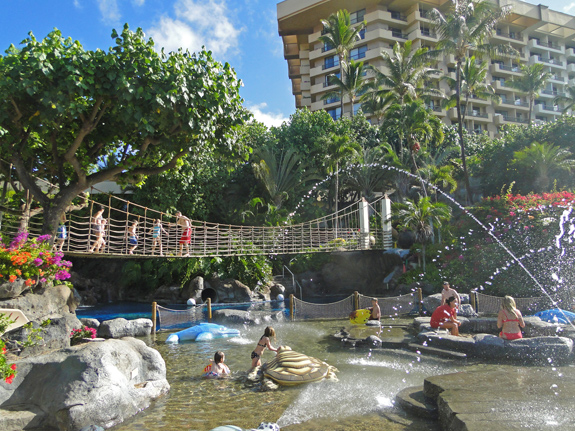 Hyatt Regency Maui Kids Swimming Pool