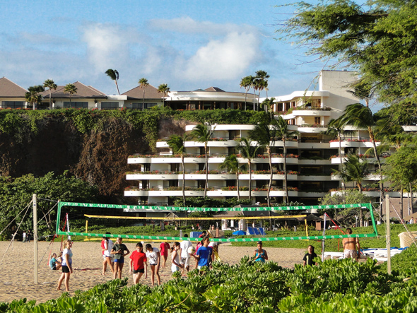 Beach Volleyball at the Kaanapali Beach Resort