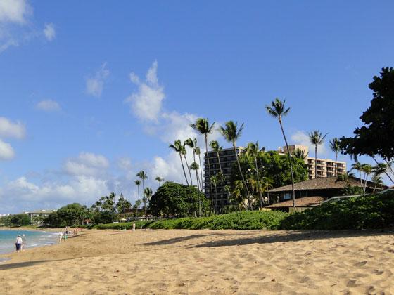 Kaanapali Ocean Inn beach