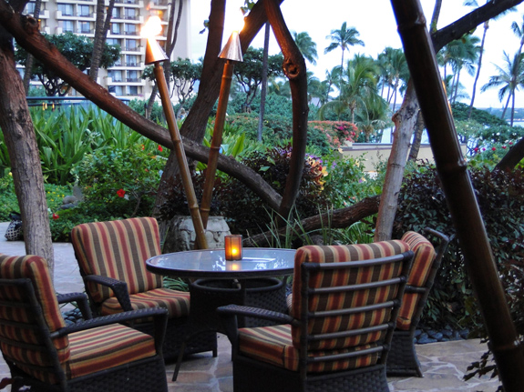 Dining at the Hyatt Regency Maui