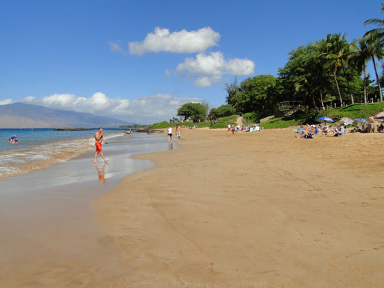 best family beach on maui Kamaole III