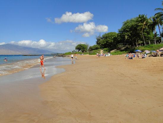 best family beach on maui Kamaole III