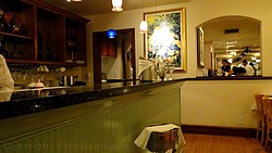 Picture of the interior of the Lahaina Grill, one of the best restaurants in Maui, Hawaii.