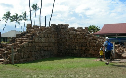 Picture of the Old Fort in Lahaina, Maui, Hawai