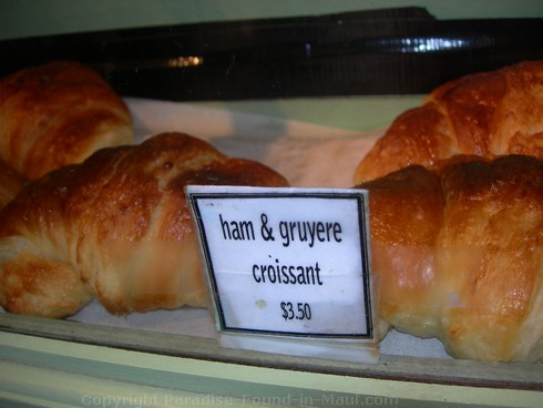 Picture of croissants at Ono Gelato in Lahaina, Maui.