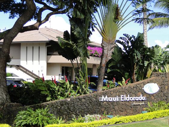 Kaanapali Maui Eldorado Resort in Hawaii