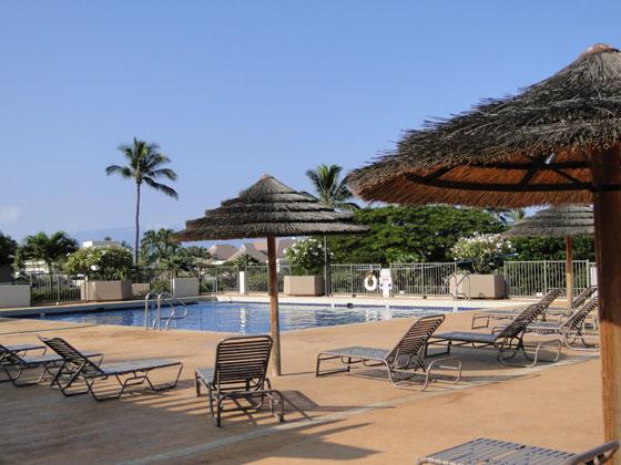 Swimming pool at the Maui Eldorado Resort in Hawaii