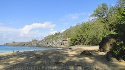 Picture of shade at Mokule'ia Bay, Slaughterhouse Beach, Kapalua, Maui, Hawaii.