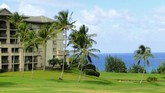 Picture of the Ritz Carlton in Kapalua, Maui, Hawaii.