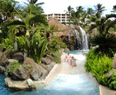 Picture of pool at the Grand Wailea Resort in Maui, Hawaii.