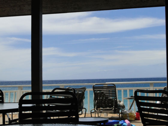 Beauiful ocean view in Maui Hawaii