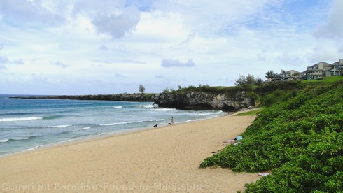 Picture of West Maui's Oneloa Beach in Kapalua.