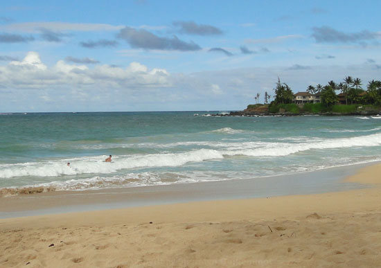 Boogie Boarding at Paia Beach Maui