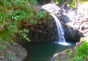 Pipiwai Trail Waterfall