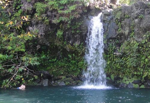 Hana Highway Waterfall on Maui