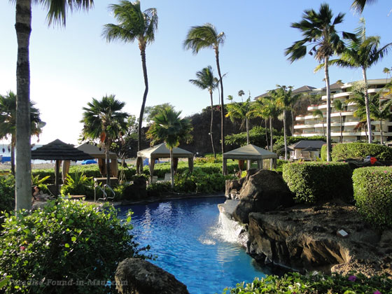 Sheraton Maui Hotel and Resort's Beautiful landscaping