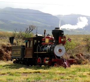 Picture of the Sugar Cane Train in Maui, Hawaii