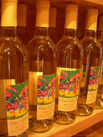 Picture of my favourite wine from Tedeschi Winery: Maui Splash!