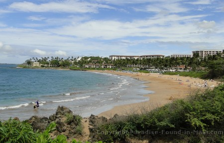 Picture of Wailea Beach on south Maui.