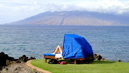 Picture of an ocean view in Maui