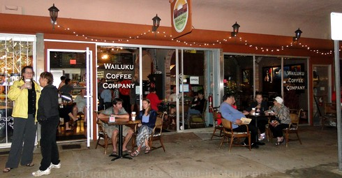 Picture of Wailuku Coffee Company in Wailuku, Maui, Hawaii.