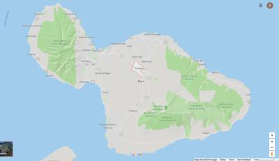 Location of Pukalani on Google Maps
