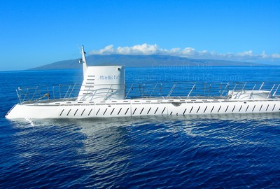 Picture of the Atlantis Submarin in Hawaii