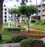 Grand Wailea Hotel grounds