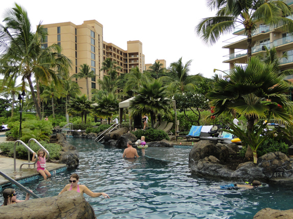 Swimming Pool at Maui's Honua Kai Resort