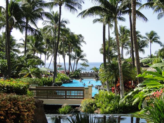 Marriott Maui Ocean Club grounds