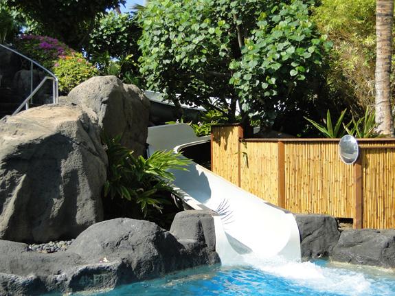 Marriott Maui Ocean Club waterslide