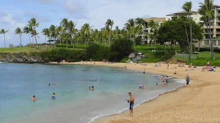 Picture of Kapalua Beach, Maui, Hawaii.