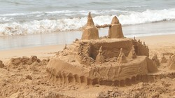 Sand Castle at Keawakapu Beach