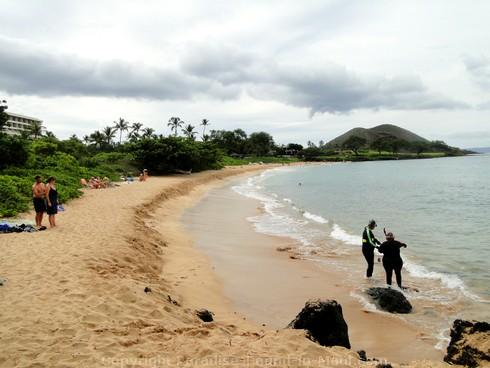 Picture of Maluaka Beach, Maui, Hawaii.