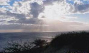 Skyline in Maui, Hawaii.