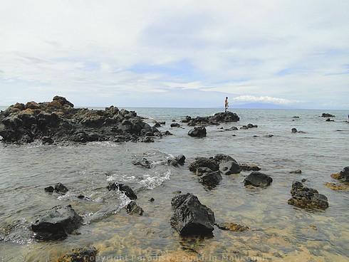 Picture of Mokapu Beach on Maui, Hawaii.