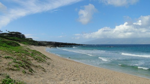 Oneloa Beach in Kapalua Maui