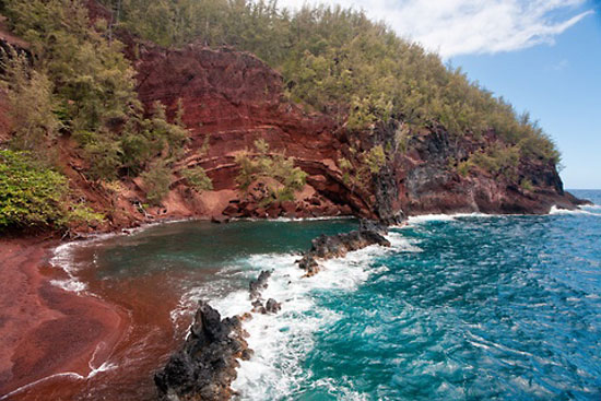 Best Red Sand Beach on Maui