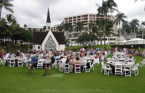 Grand Wailea Luau Seating