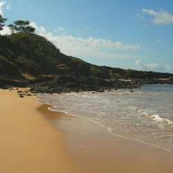 Nude Beach on Maui